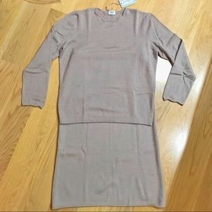 Tops - New Liapull cashmere top + skirt set 48 italy